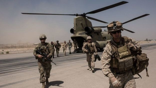 Donald Trump Afghan peace talks are over 2