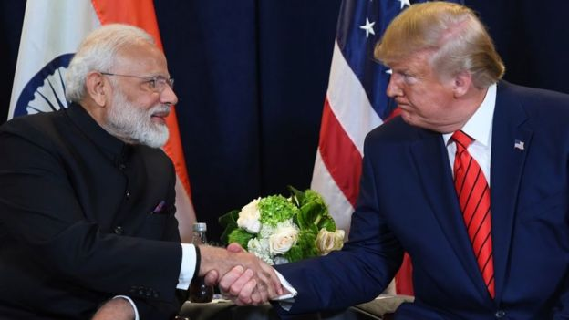 Narendra Modi and Donald Trump, Kashmir Issue