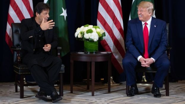 Imran Khan and Donald Trump, Kashmir Issue