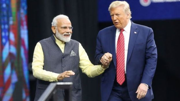 Trump and Narendra Modi