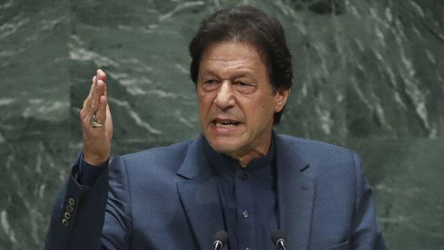 Imran Khan Pakistani Prime Minister, UN