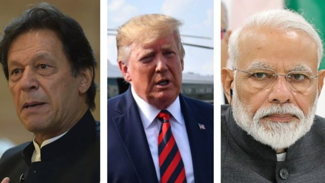 Imran Khan, Trump, Modi, Kashmir Issue