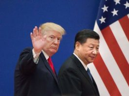 Donald Trump and Xi Jinping, USA and Chinese President