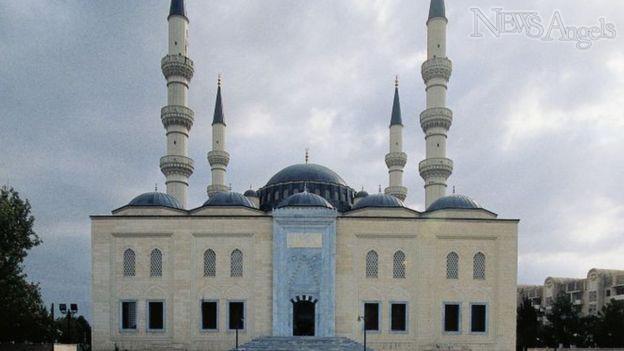 Ertugrul History, Ertugrul Gazi Mosque in Turkmenistan