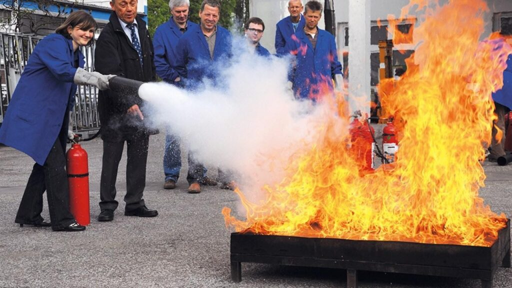 Training Your Staff in Fire Safety